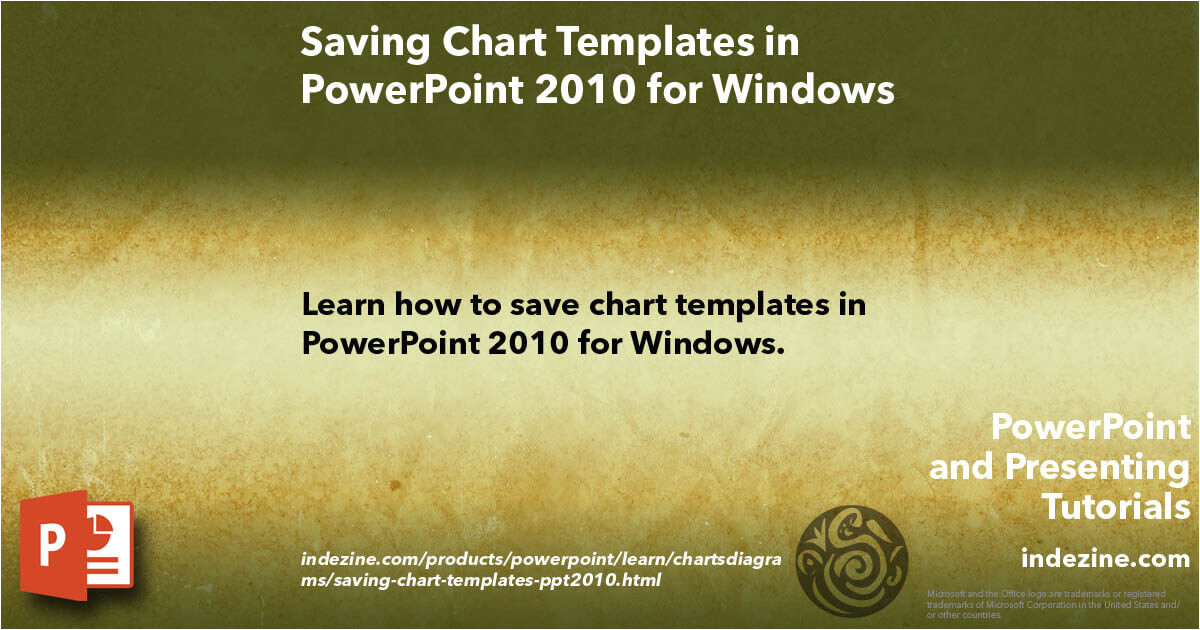 Where to Save Powerpoint Templates Saving Chart Templates In Powerpoint 2010 for Windows