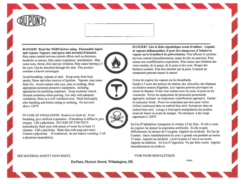Whmis Workplace Label Template the Intech Insider Whmis Compliance for Dupont Teflon
