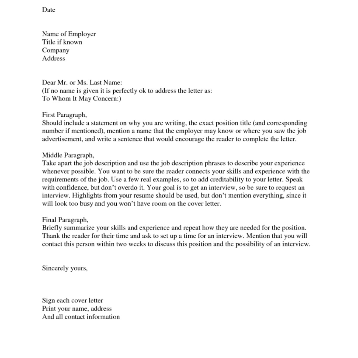 Who Should A Cover Letter Be Addressed to Cover Letter who to Address Experience Resumes