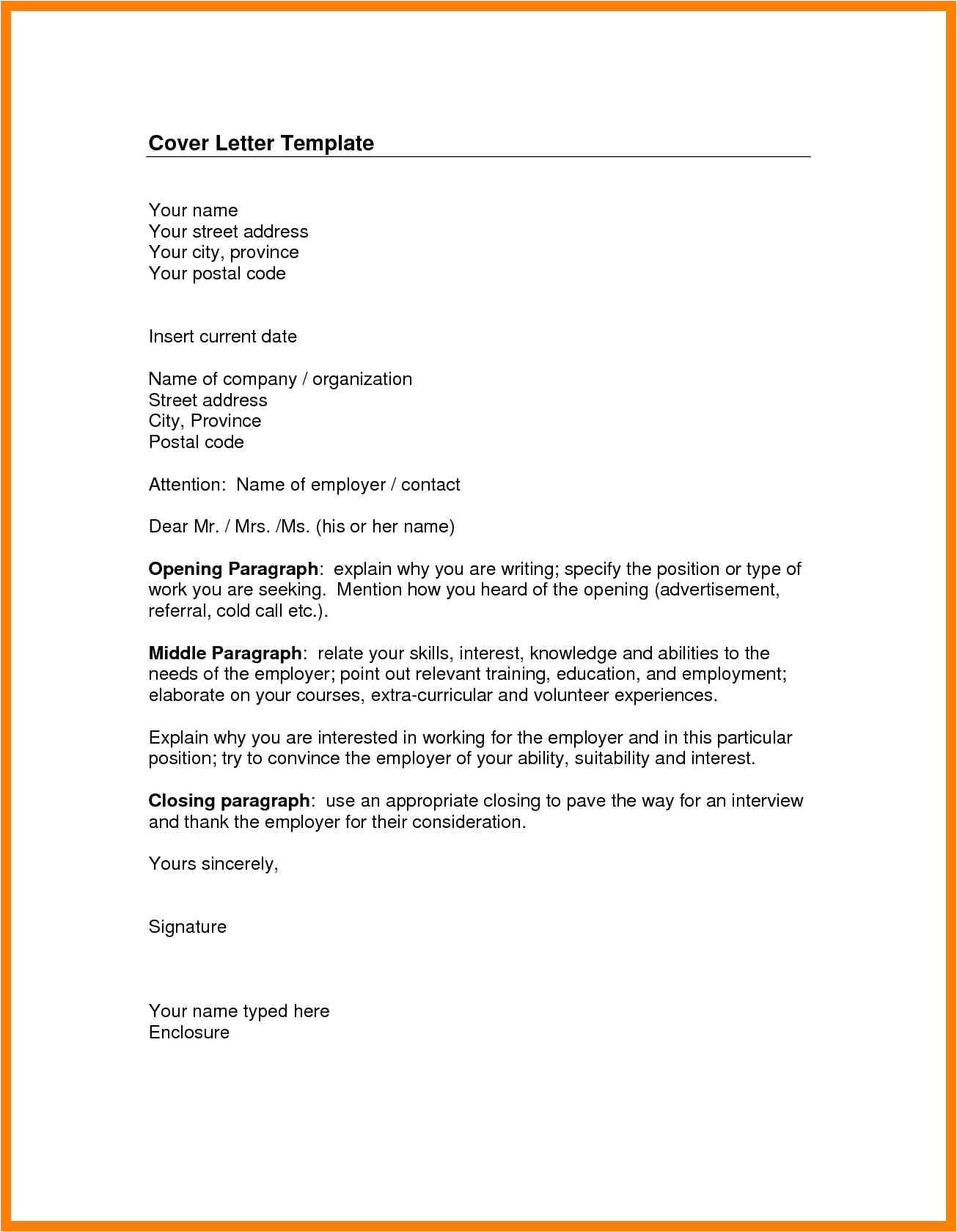 who to address cover letter to