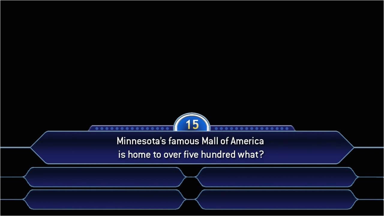 Who Want to Be A Millionaire Game Template who Wants to Be A Millionaire Template Madinbelgrade