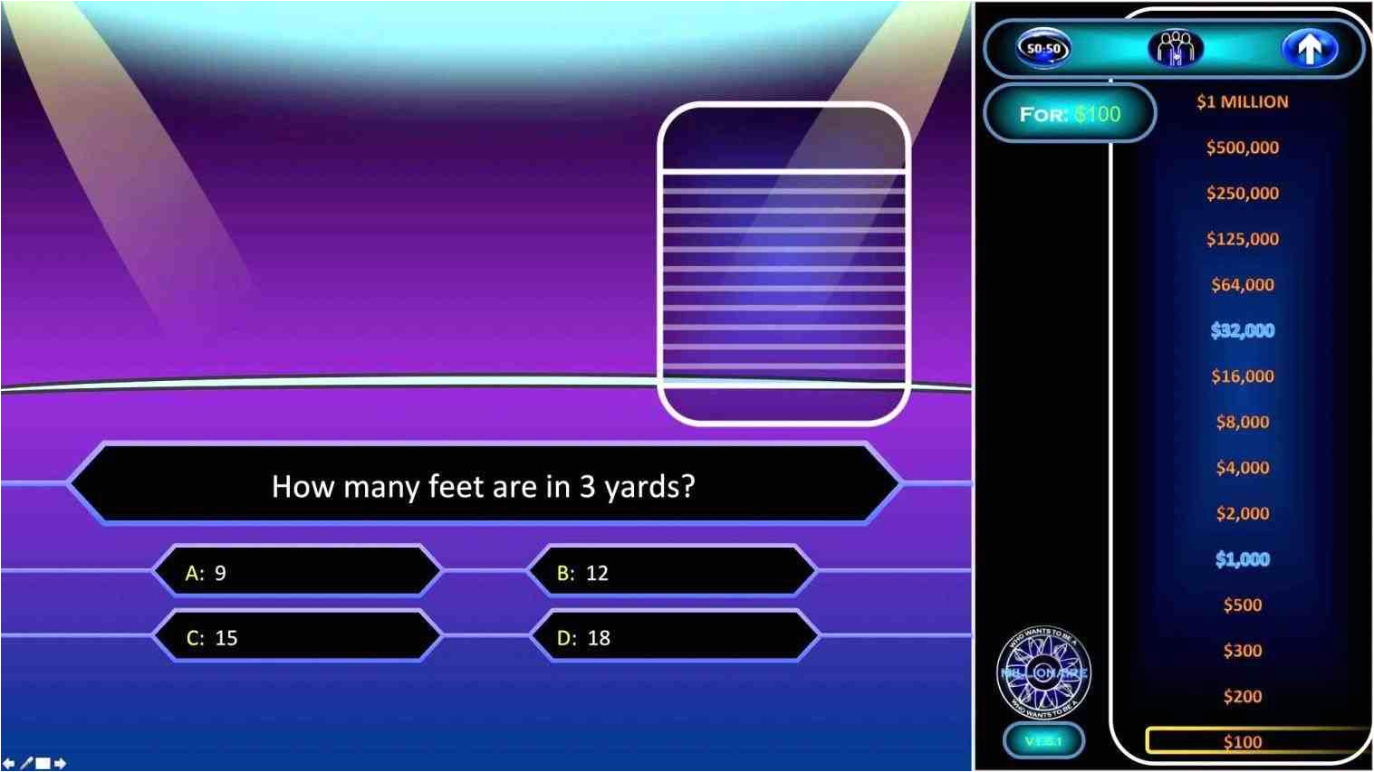 who millionaire game template wants to be a millionaire powerpoint template with sound rhaceeducationcom powerpoint millionaire game template jpg