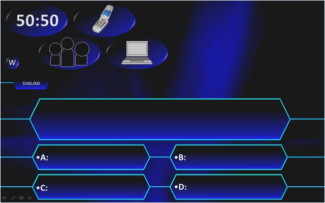 Who Want to Be A Millionaire Template Powerpoint with sound who Wants to Be A Millionaire Template Powerpoint with