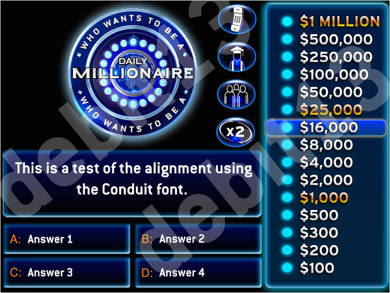 who wants to be a millionaire powerpoint template with music daily millionaire template millionaire fans download