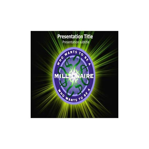 who wants to be a millionaire template powerpoint with music