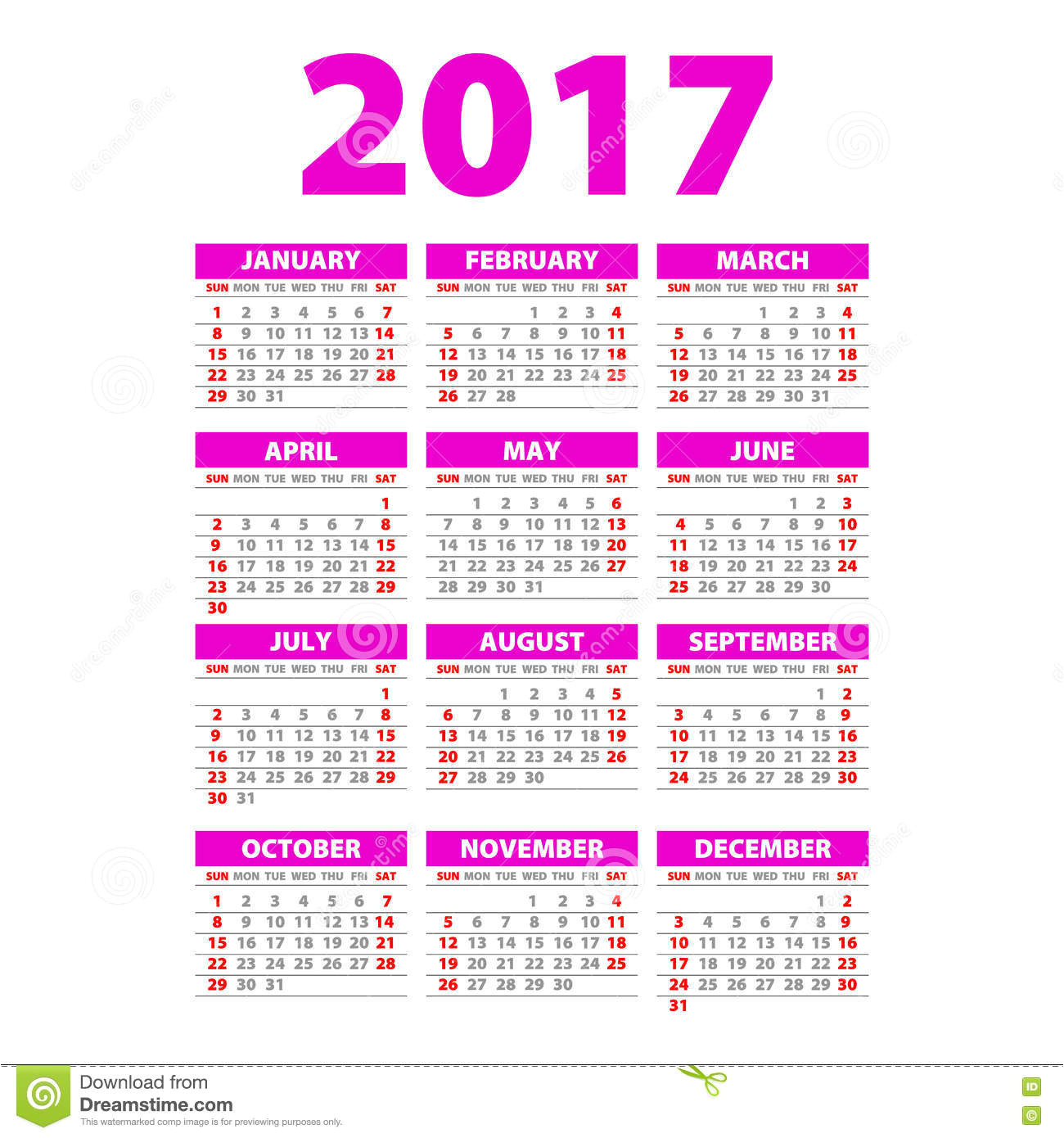 Whole Year Calendar Template Year Wall Planner Plan Out Your whole Year with This 2017