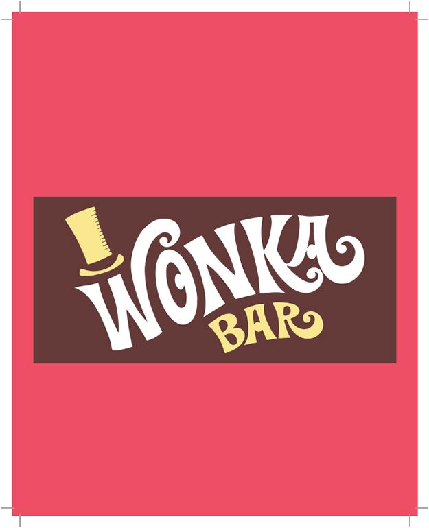 Willy Wonka Candy Bar Wrapper Template Free Wonka Bar Wrapper Printable Party Invite Michele 39 S