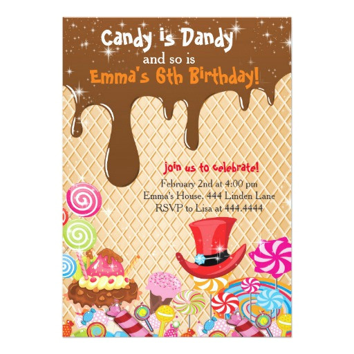 Willy Wonka Invitations Templates Willy Wonka Birthday Invitations Zazzle