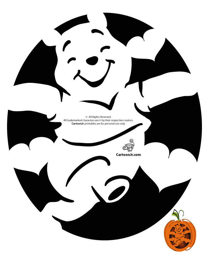 disney pooh pumpkin carve