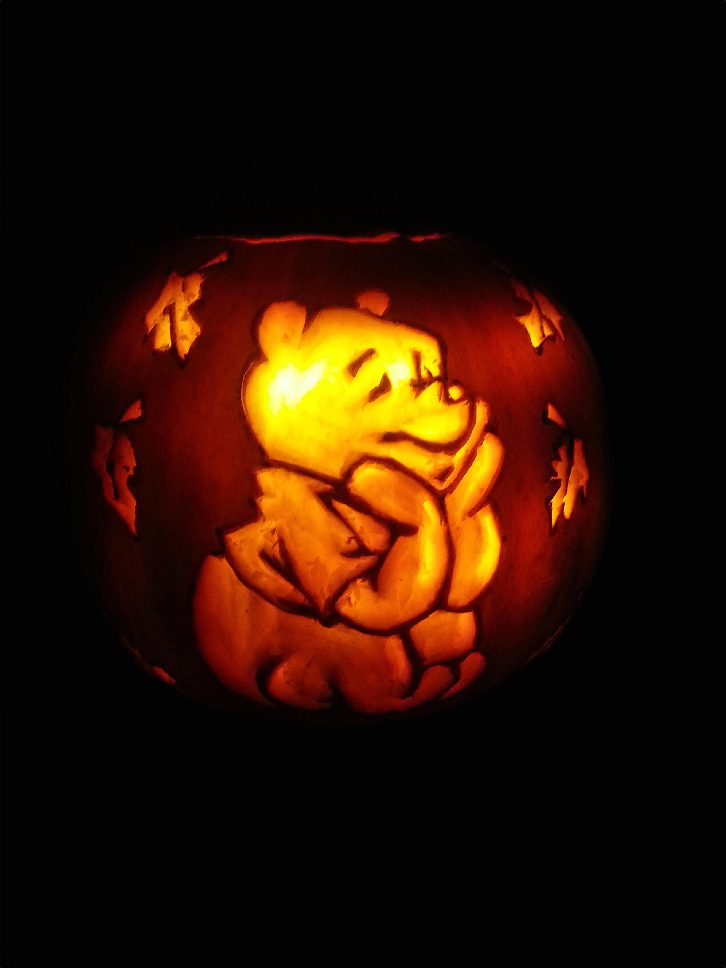 winnie the pooh pumpkin halloween 410275709