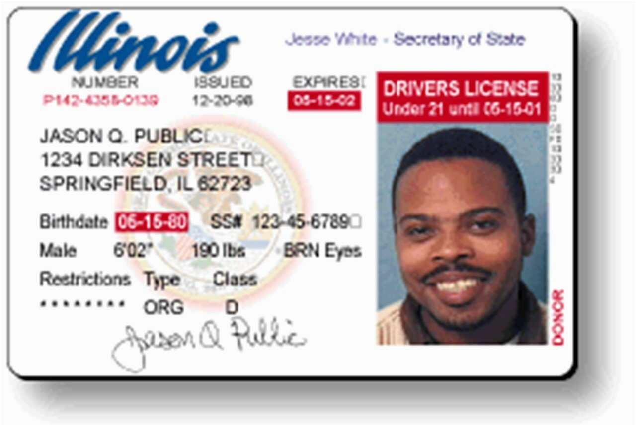 wisconsin drivers license template