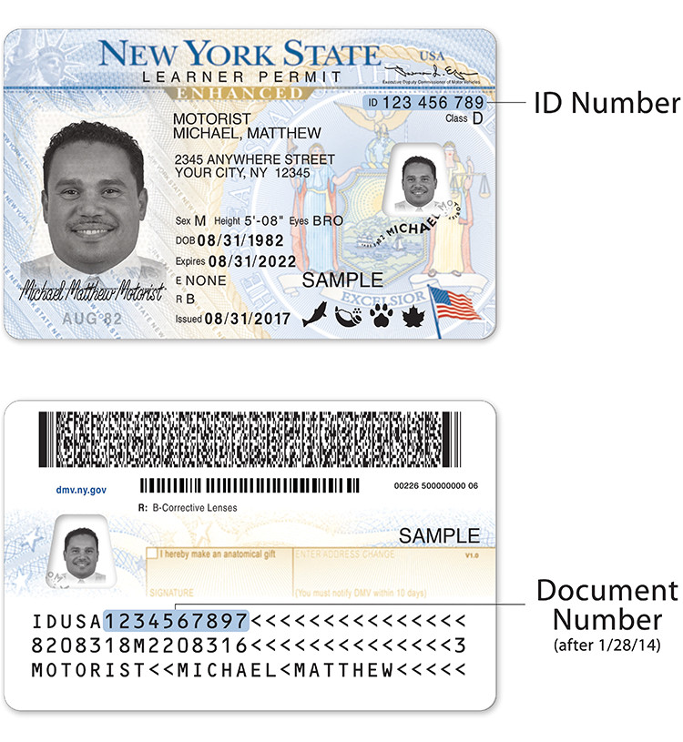 wisconsin drivers license template sample new york state dmv documents