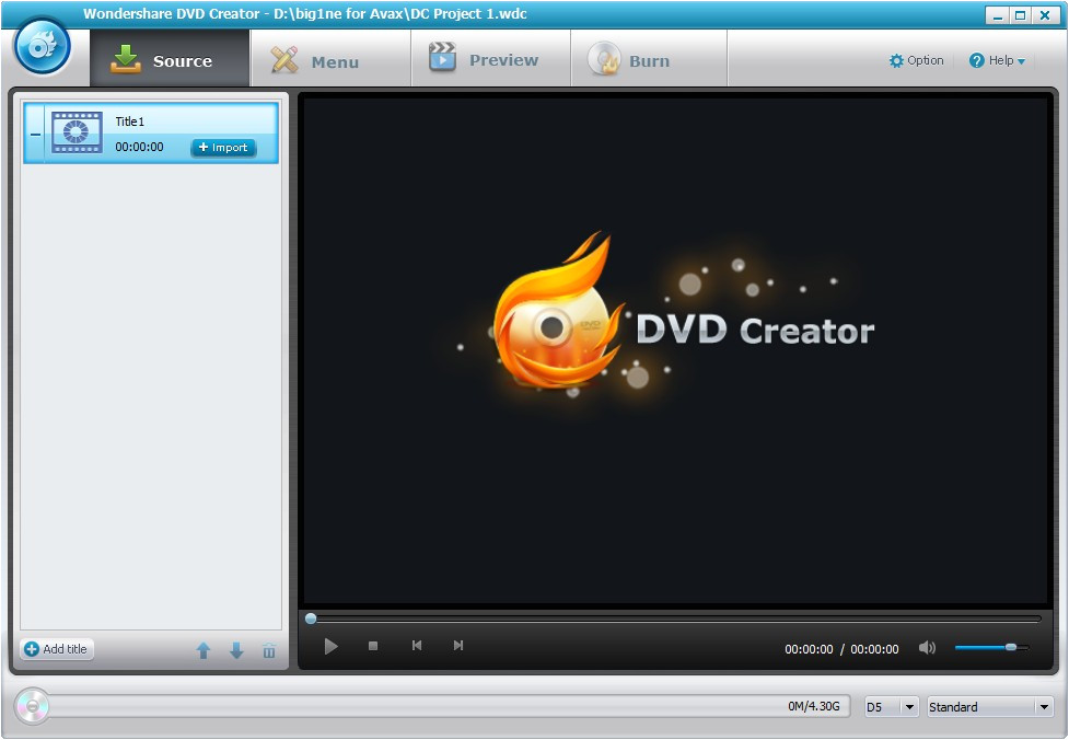 wondershare dvd creator 3 3 1 2