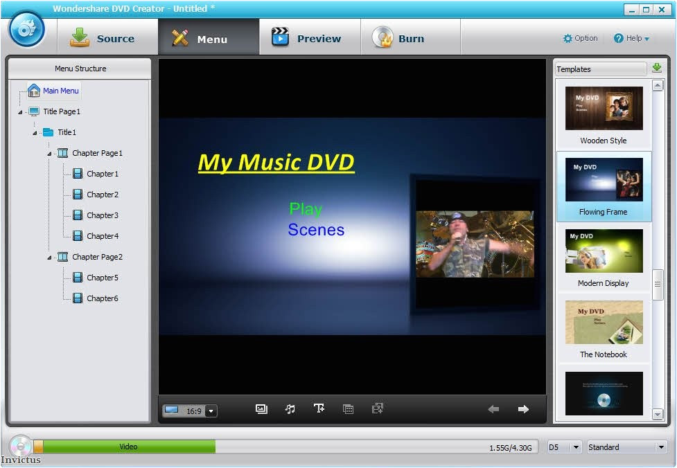 Wondershare Dvd Templates Wondershare Dvd Creator 2 6 5 with Templates Portable by