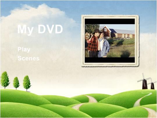 free dvd menu templates