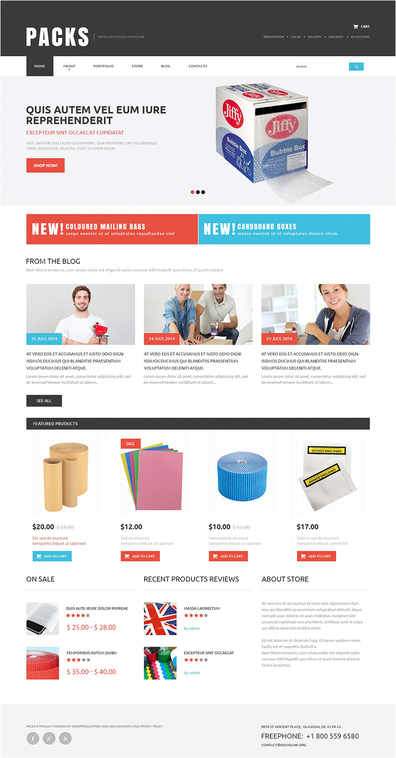 industrial woocommerce themes