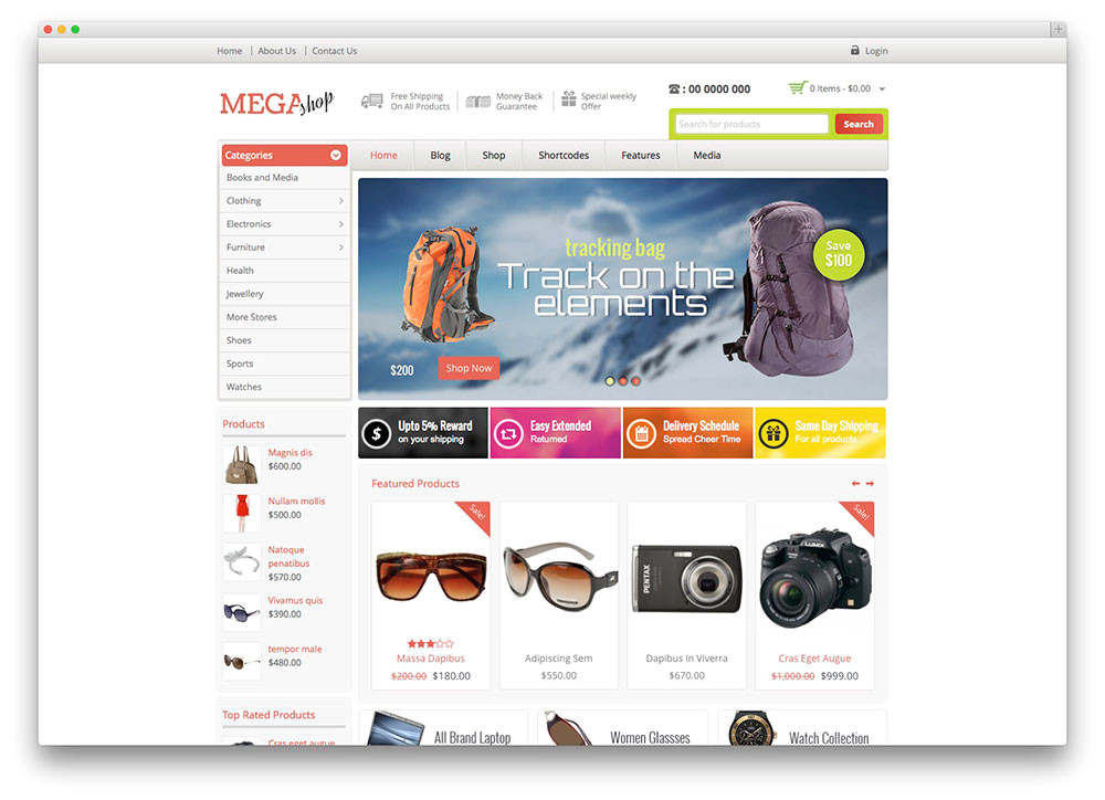 Woocomerce Template 38 Best Woocommerce WordPress themes to Build Awesome