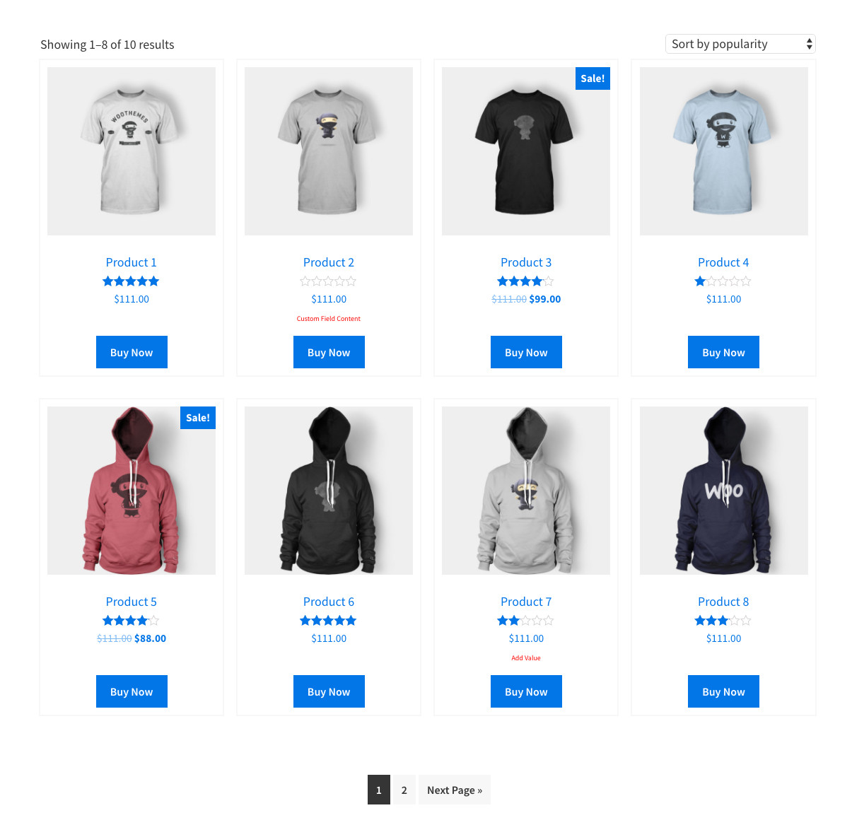 Woocommerce Product Page Template Custom Woocommerce Product Page Archive Template for Genesis