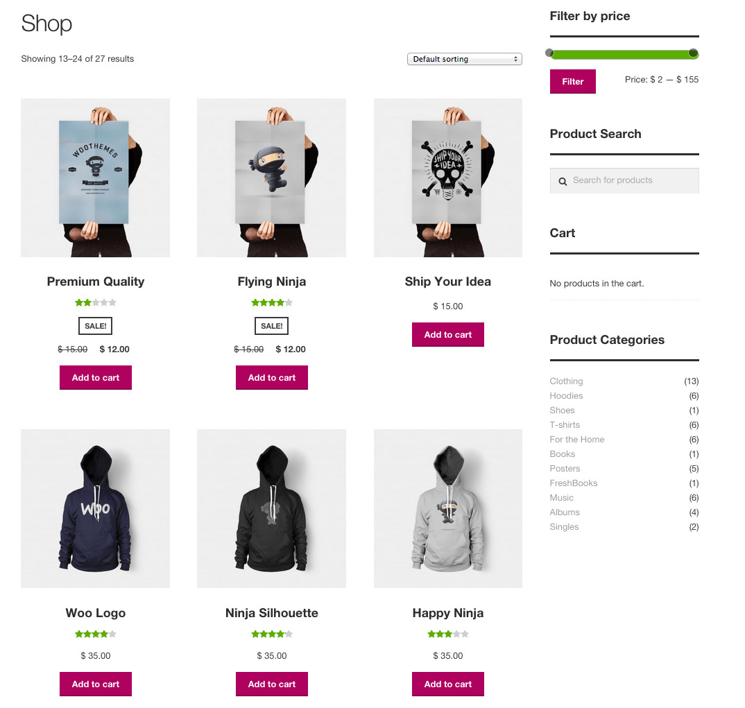 best free woocommerce theme storefront review