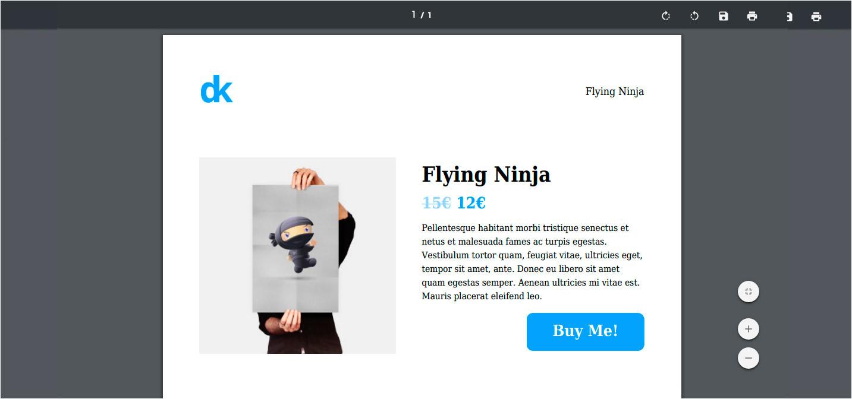 dk pdf template customization woocommerce tutorial