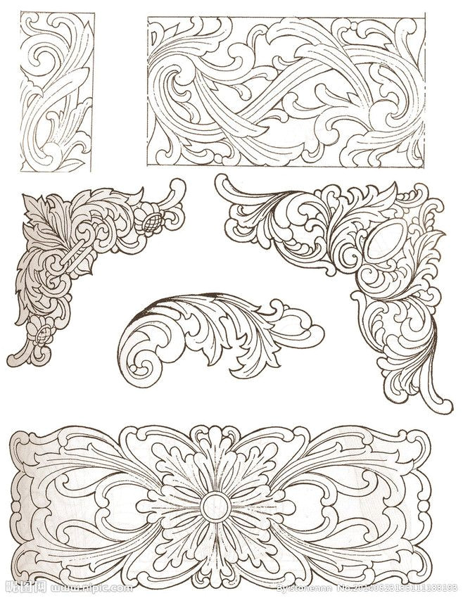 Wood Cutting Templates Related Image Leather Patterns Pinterest Wood