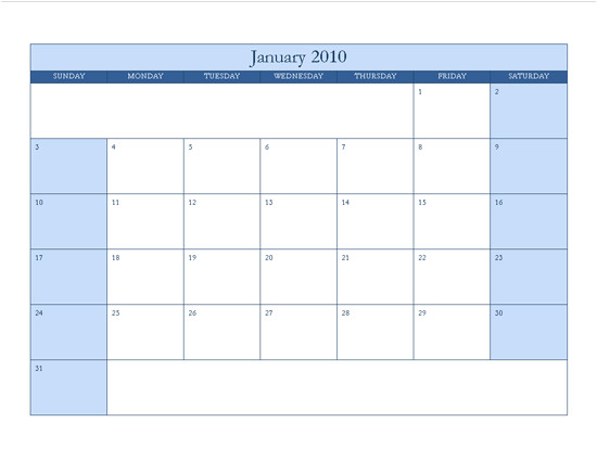 free 2013 calendar template for word 2003 full version free software download