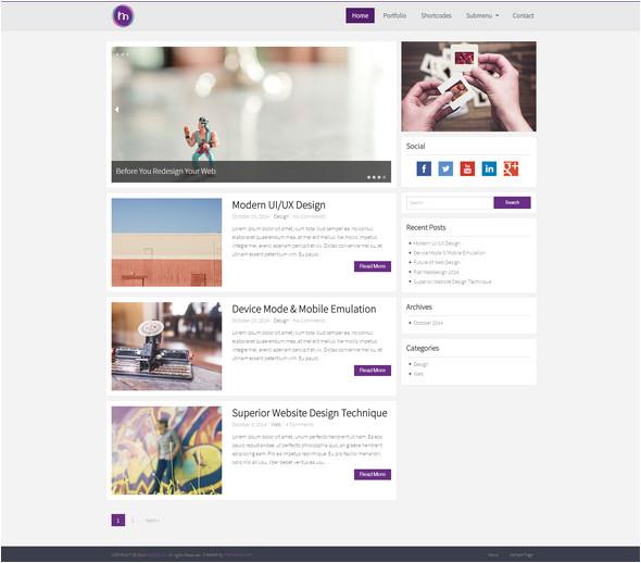 Word Press Blog Templates 100 Best Personal Blog WordPress themes Techclient