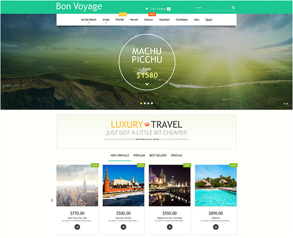 WordPress Blog Template PHP 21 Travel PHP themes Templates Free Premium Templates