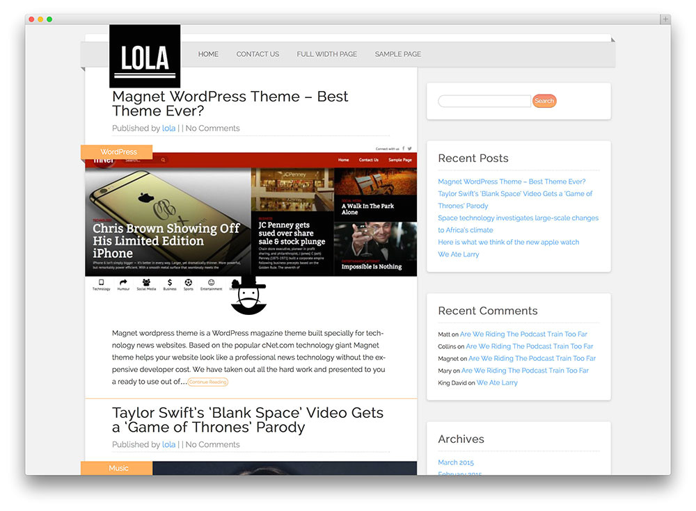 WordPress Blog Template PHP 32 Free WordPress themes for Effective Content Marketing