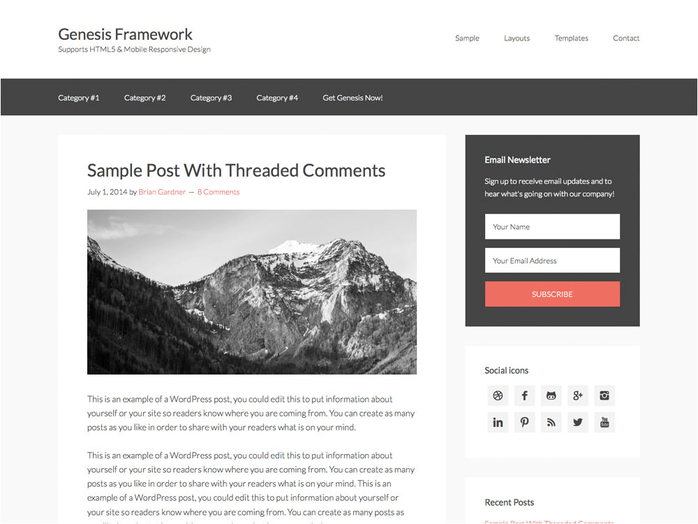 custom category template wp blog manager plugin to manage design blog by accesskeys
