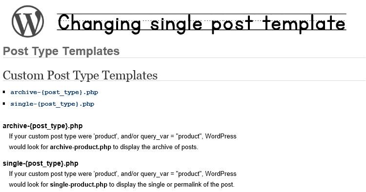 WordPress Custom Single Post Template How to Change Single Post Template In WordPress Based On