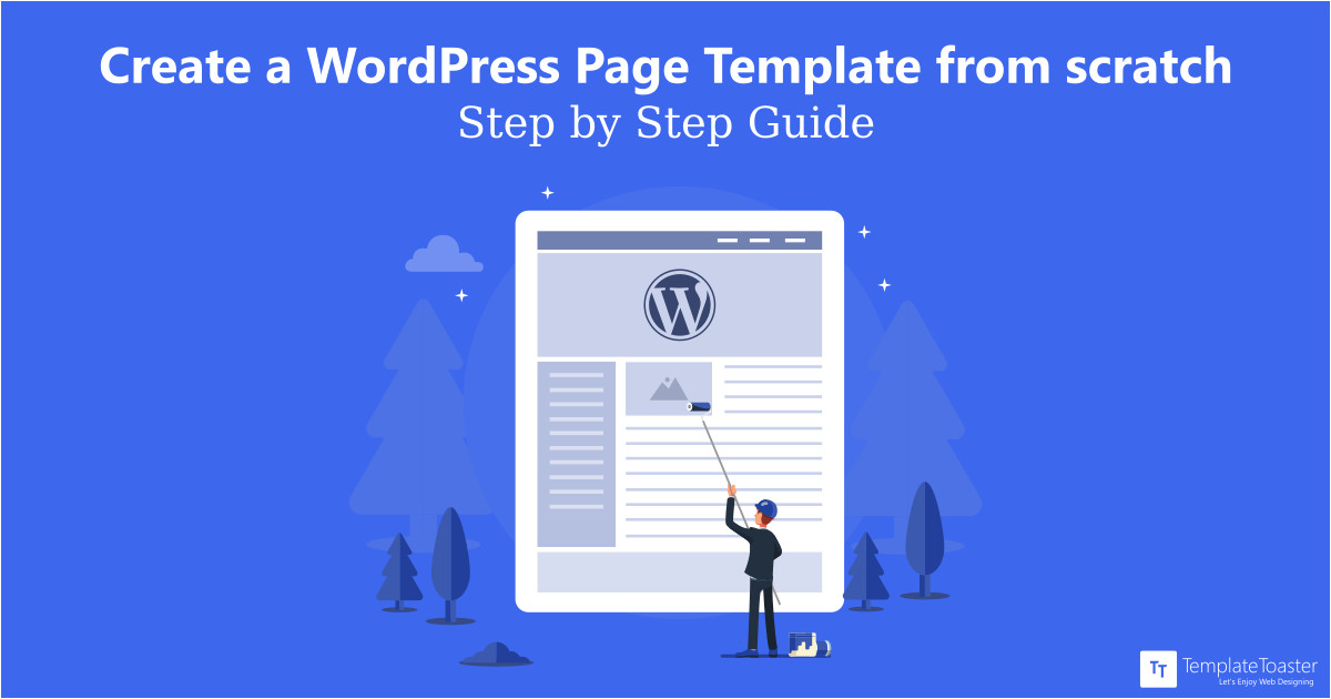 create page template tutorial guide