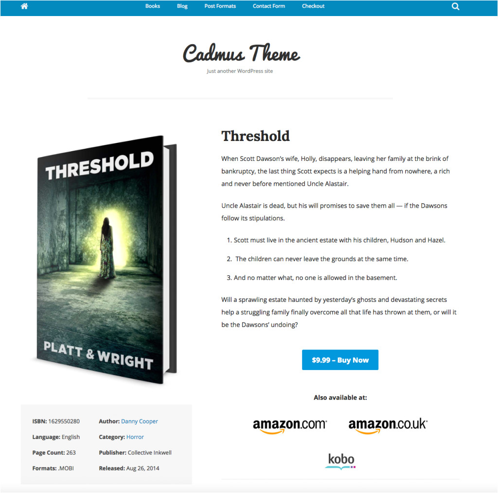 author themes