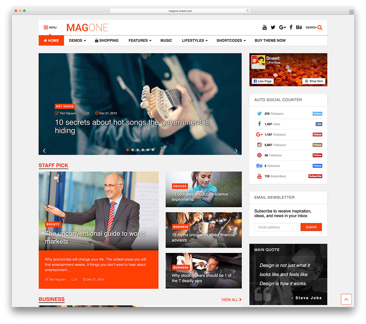 WordPress Templates for Magazines top 50 News Magazine WordPress themes 2018 Colorlib