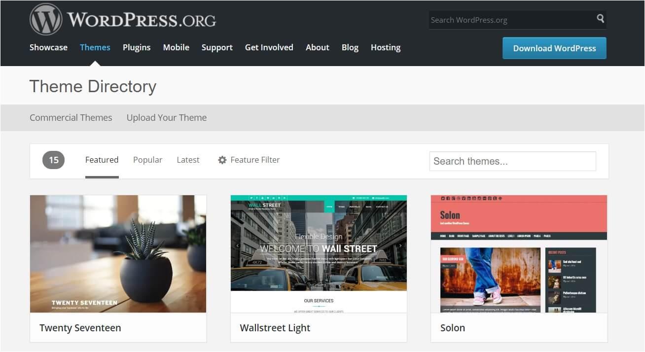 WordPress Templates Uk 40 Of the Best Free WordPress themes for 2018