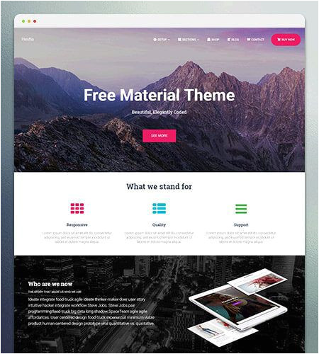 WordPress Templating 30 Best Free WordPress themes 2018 Download themeisle