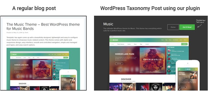 WordPress theme Post Template Free Custom Post Template WordPress Plugin is Released