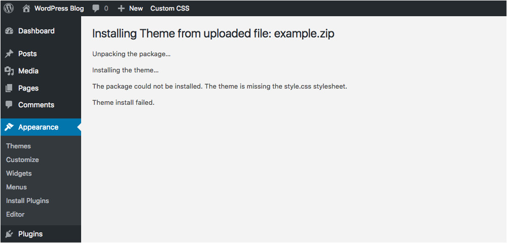 WordPress theme Template is Missing 10 Common WordPress theme issues How to Fix them Autos Post