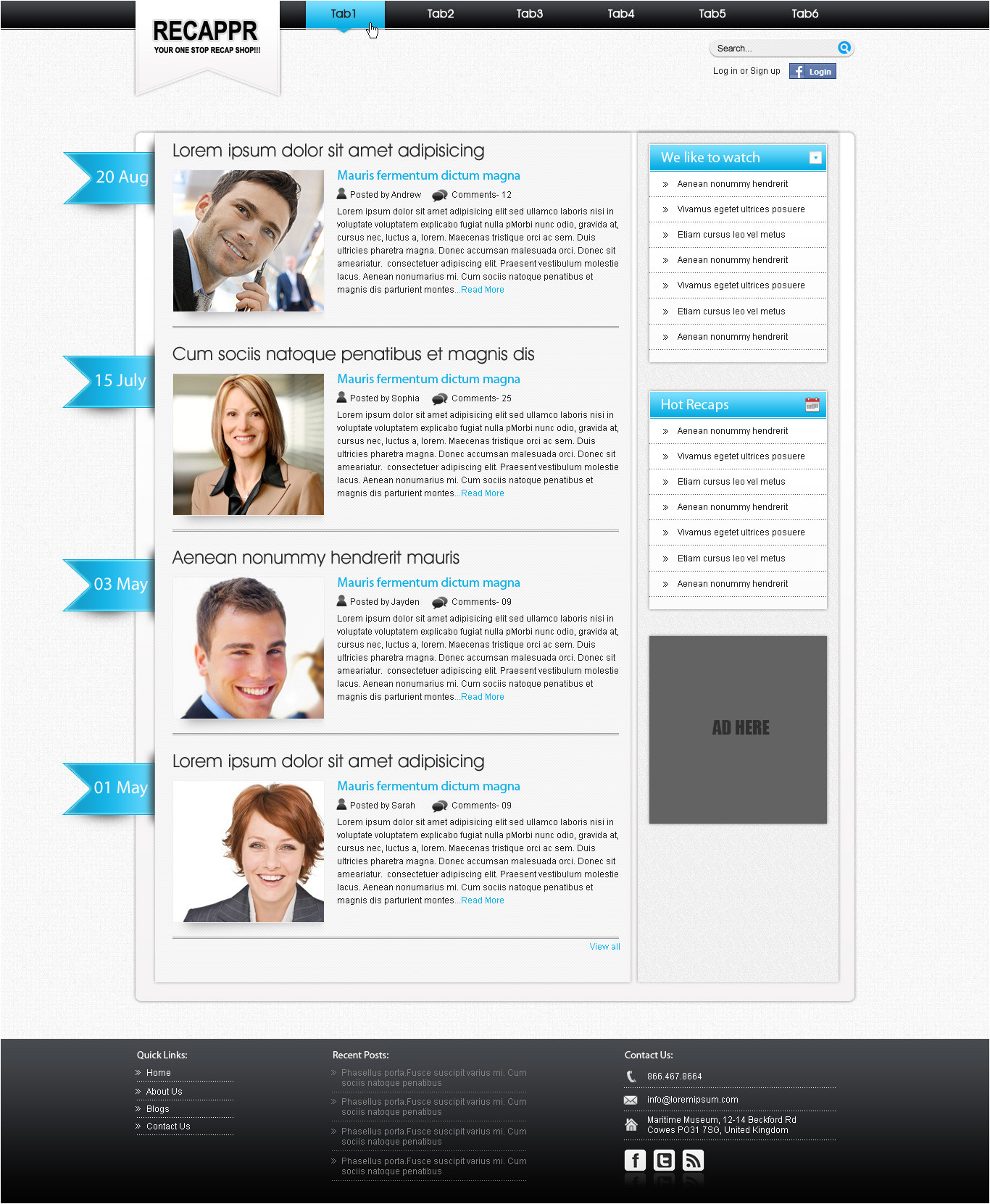 wordpress blog template 326725700