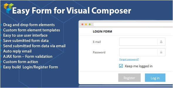 WordPress Visual Composer Templates Dhvc form V2 0 4 WordPress form for Visual Composer