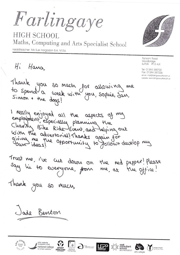 work experience letter template year 10 2644