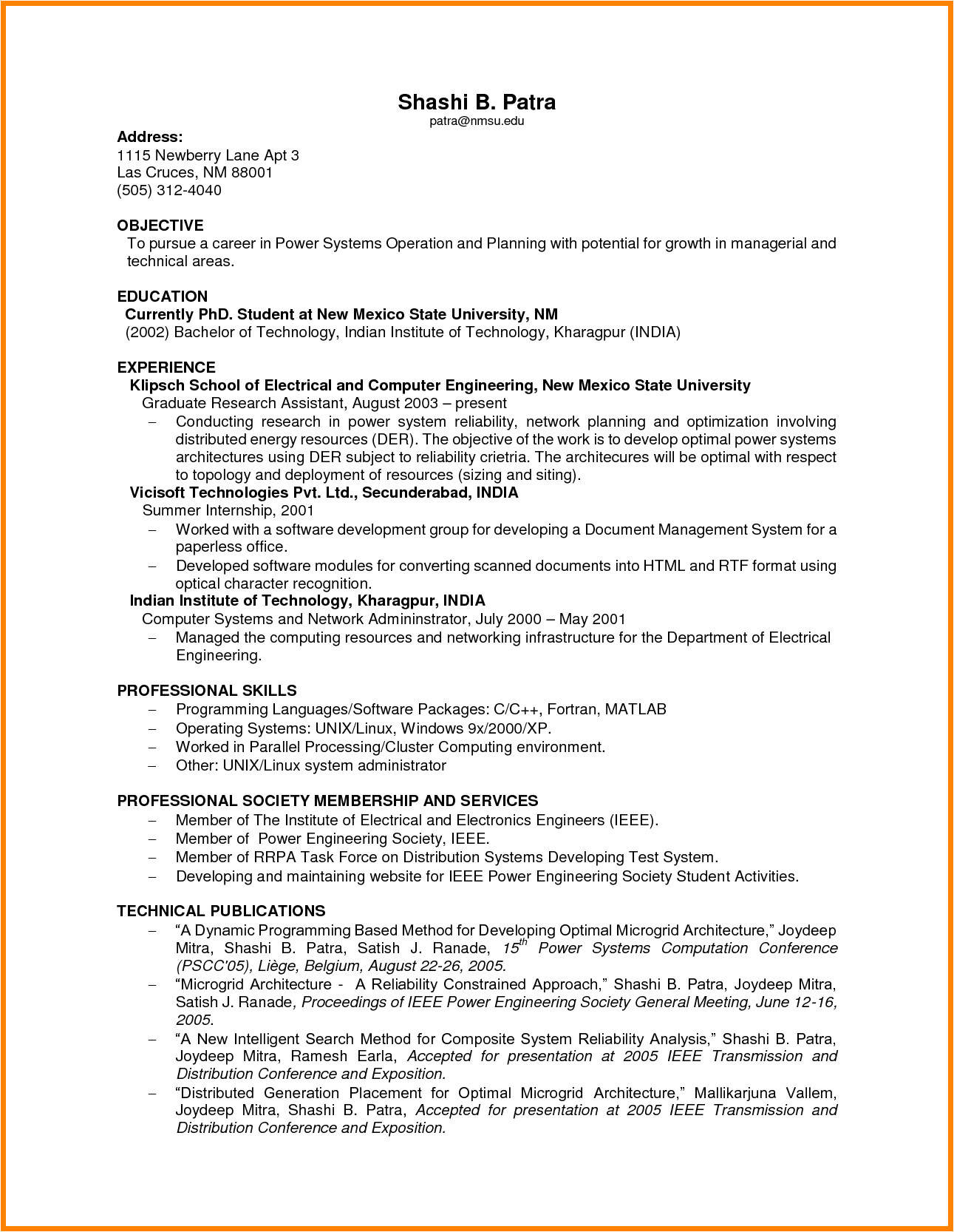 6 job resumes with no experience