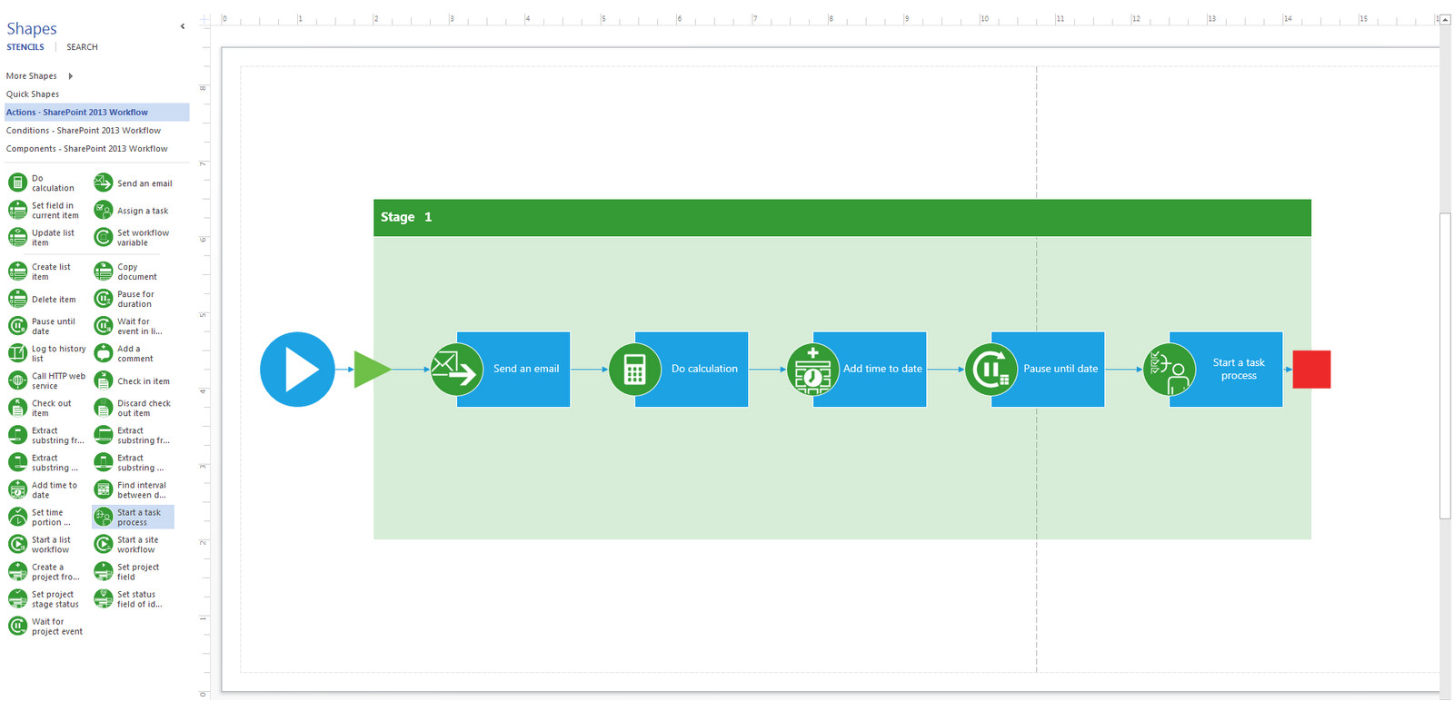 workflow template sharepoint 2013
