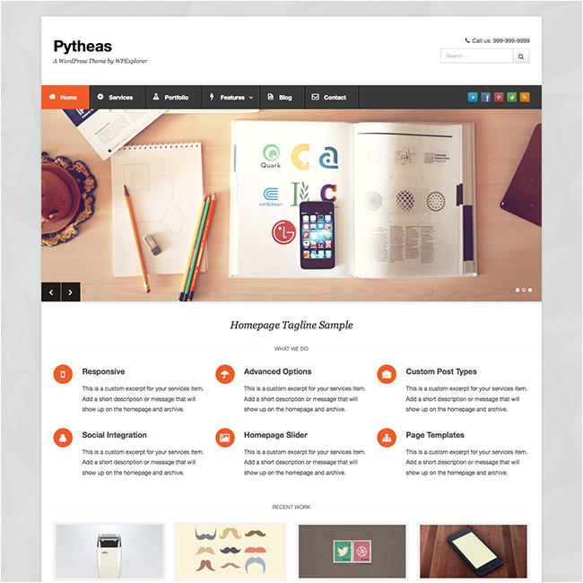 pytheas free theme