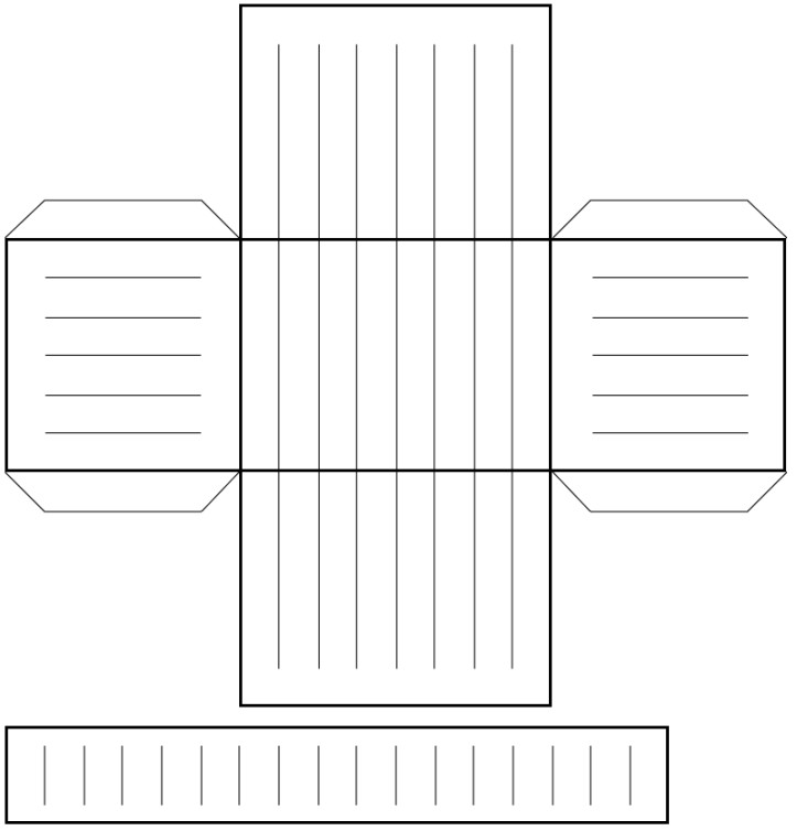 woven heart basket template