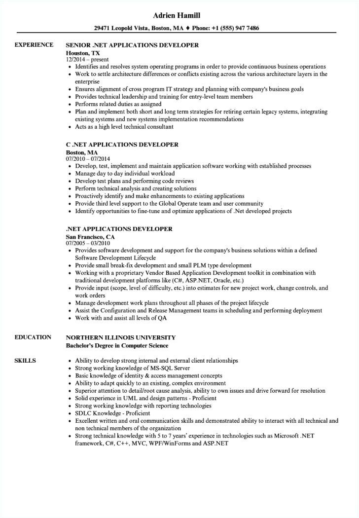 wpf developer resume sample wpf developer resume sample 2