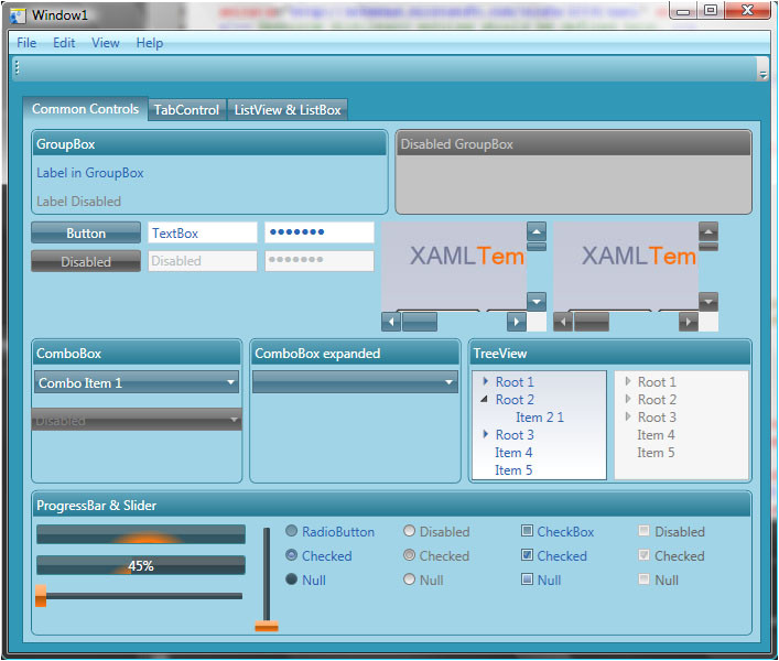 Wpf Tabcontrol Template 23 Images Of Template Binding In Wpf Helmettown Com