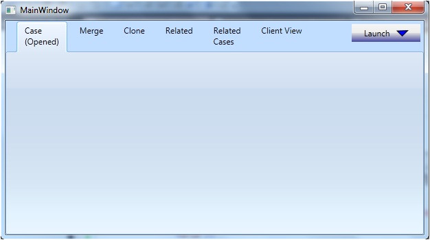 wpf tabcontrol template