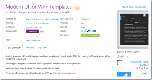 Wpf Ui Templates Modernize Your Wpf App 39 S with the Modern Ui for Wpf