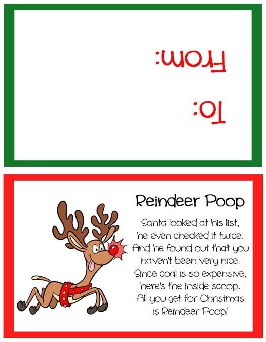 snowman poop poem template 2